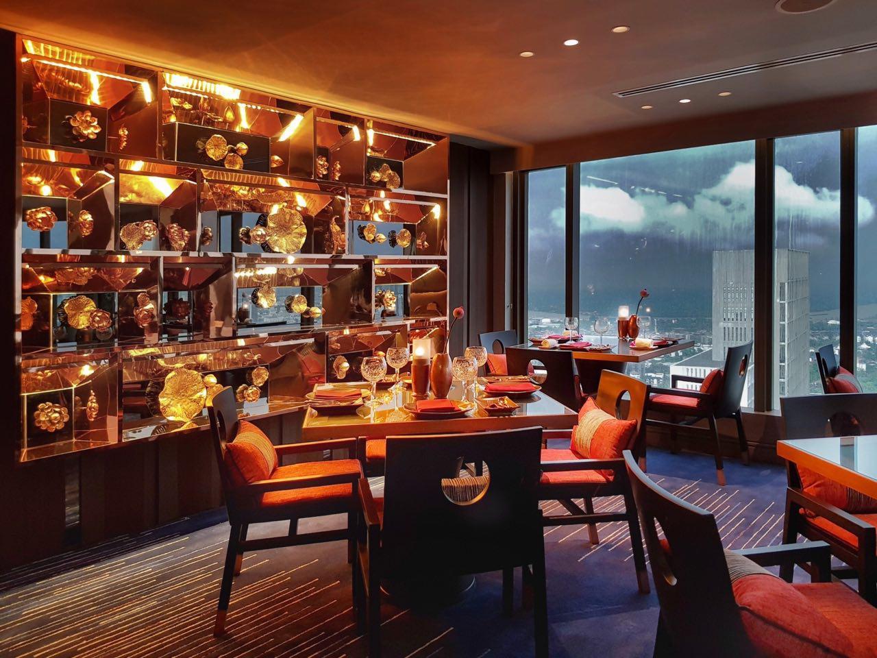 Saffron, Banyan Tree Hotel